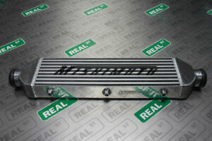 """Mishimoto Silver Intercooler Z Line 28"""" x 7.5"""" x 2.5"""" Universal 2.5 Inlet/Outlet"""