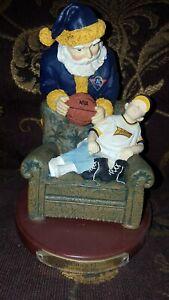 "2001 NBA Golden State Warriors ""Santa's Gift"" Figurine Boy Basketball Ltd Ed."