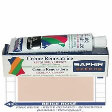 CREME CIRAGE PIGMENTAIRE RENOVATRICE CUIR SAPHIR AVEL TUBE 25 ML BEIGE ROSE 42