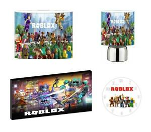 ROBLOX - Light Shade ,Touch Lamp, Wall Art, Wall Clock or Bundle
