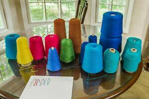 Excellent condition cotton cone yarn-weaving, crocheting or machine knitting!