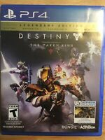 Destiny: The Taken King -- Legendary Edition (Sony PlayStation 4, 2015)Tested
