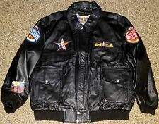JEFF HAMILTON 2004 NBA ALL-STAR PEBBLE GRAIN LEATHER JACKET:NEW, RETAIL $799