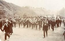 Brass Band RP old pc used Moulton  Spalding 1907 Event ?