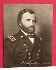 Original Ulysses S. Grant Lithograph - Supplement to Boston Sunday Globe