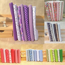 Series 7 Assorted Floral Pre-Cut Fat Quarters Bundle Charm Cotton Fabric Hot