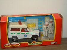 Mercedes G-Klasse Ambulance - Majorette Majocar in Box *36707