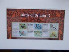 2011 Birds of Britain II Post & Go Presentation Pack SG FS11 No:P&G3 Superb U/M