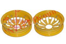 Vespa Bajaj Chetak Wheel Split Rim Pair 10'' Alloy Aluminium