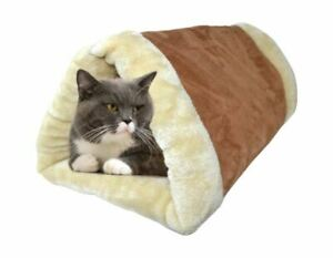 2 in 1 Self Heating Pet Cat Tunnel Cushion Puppy