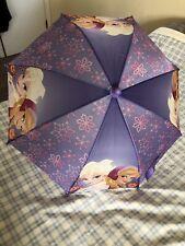 Disney Frozen Girl's Elsa And Anna Umbrella Purple & Pink