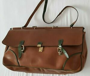 LEATHER BAG - BIG SUITCASE - HYPICAL INSPIRATION - FRANZI - NEW