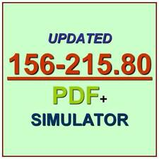 Check Point Administration CCSA GAiA R80 Test 156-215.80 Exam QA PDF+Simulator