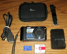 Sony Cyber-shot DSC-H55 14.1MP 10x Optical Zoom Black UVGC Guarantee Bundled