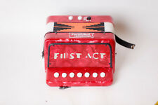 First Act Discovery Kids Accordion Used For Parts Music Red