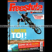 FREESTYLE MOTOCROSS N°8 ERIC SORBY MANU TROUX KEVIN ALAIN BURCKLEN FMX MX 2004