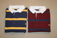 NEW Polo Ralph Lauren Big and Tall Pony Logo Striped Rugby Shirt