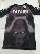 Tatami King Kong MMA BJJ Jiu Jitsu ShortSleeve Short Sleeve SS Rashguard Rash