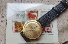 Vintage Rare POLJOT Orbita Watch with original box and COMMEMORATIVE STAMPS