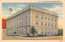 POSTCARD   UNITED  STATES   CUMBERLAND   MD   US  Post  Office