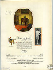 1927 PAPER AD White Rotary Electric Sewing Machine Commercial Print Award Winner