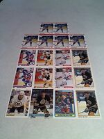 *****Chris Nilan*****  Lot of 70 cards.....18 DIFFERENT / Hockey