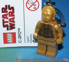 LEGO® SCHLÜSSELANHÄNGER C-3PO / C3PO / C3-PO aus Star Wars™ ! NEU !
