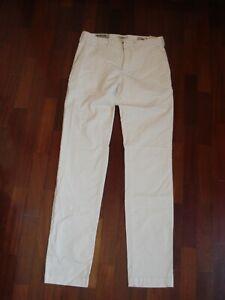 Pantaloni MCS colore beige chiaro tg. 29 x 34 nuovi con etichetta
