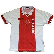Vintage Umbro Ajax FC Soccer Football Jersey Size Small 2 Amsterdam 90s