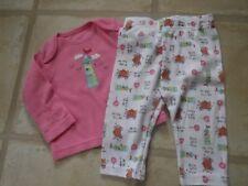 Baby Girls sleepwear 2 piece long sleeved fairytale 100% cotton 3-6 months - exc