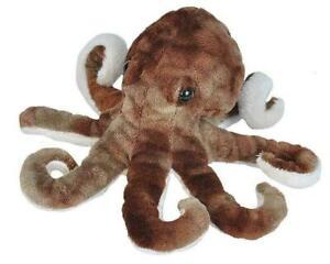 "NEW PLUSH SOFT TOY 21587 Cuddlekins Sea Critters Octopus Wild Republic 8"" 20cm"