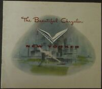 1951 Chrysler New Yorker Newport Sales Brochure Original