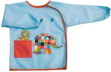 Elmer the Elephant Child's Plastic coated Cotton apron with Sleeves - Petit Jour