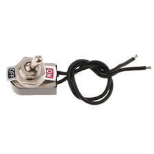 Heavy Duty película de encendido/apagado interruptor de palanca coche DASH 125V/250V AC SPST con alambre