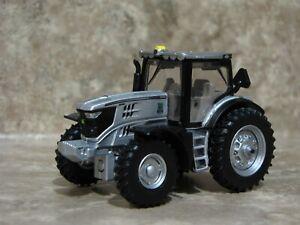 Ertl 1/64 Silver John Deere 6215R Tractor Farm Toy 100 Years