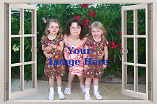 """3D Window Effect Your Personal Photo Picture Printed on Canvas 20""""x30"""" Prints"""