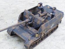 Roco Minitanks Pro Painted WWII German Grille 88MM SP Anti Aircraft Lot #2434B
