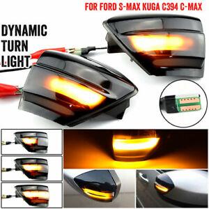Dynamische LED Seitenblinker Blinker Ford Kuga C394 08-12 S-Max C-MAX DE