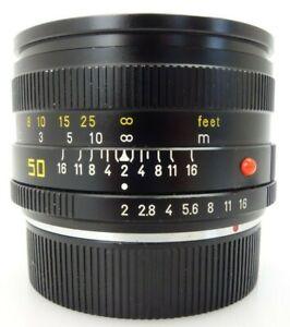 Leitz Leica Summicron R 50mm f2 3CAM 3162419 Canada  jn085