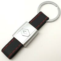 RENAULT Leather Keyring Key Ring Chain Fob With Gift Box