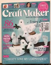 Craft Maker Winter Ideas Festive Gifts WITHOUT GIFT Dec 2014 FREE SHIPPING JB