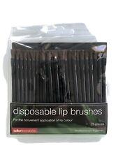 Salon services disposable lip brushes