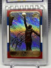 MICHAEL JORDAN 1998 FLEER ROOKIE Signature 23KT Gold Card PRISM REFRACTOR GEM 10
