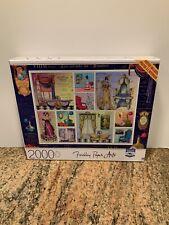 2000 Piece Finchley Paper Arts Puzzle - Les Secrets du Boudoir - with poster NIB