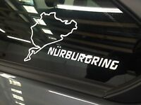 Nurburgring sticker / decal BMW 335,M3,all cars 200mm white color