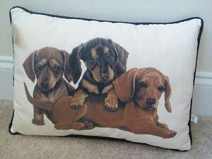 Dachshund Large Decorative Throw Pillow