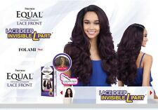 FREETRESS EQUAL LACE DEEP INVISIBLE L PART LACE FRONT SYNTHETIC WIG- FOLAMI