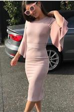 Sheike Scandal Dress NWOT Size 8 in Bone (lc42)