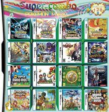 Nuevo 208 en 1 juegos de Juego Cartucho multicart DS NDS NDSL NDSi 2DS 3DS