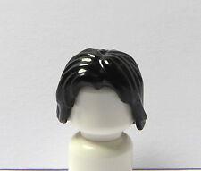 LEGO 1 Capelli Parrucca Per Uomo Ragazzo Uomo Pupazzetto Lunghezza Spalla Nero
